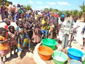 Angola water pump