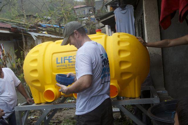Lifesaver C2 install, Barangay 3
