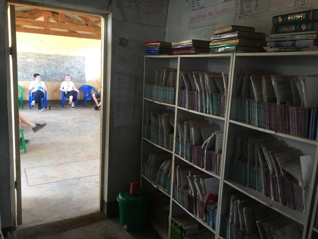 Natyamwana School Library
