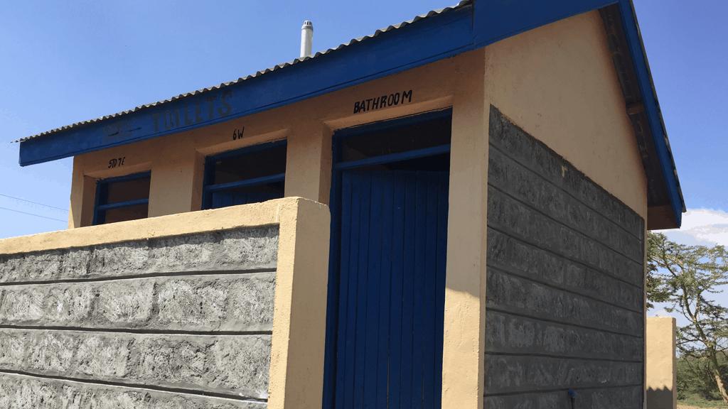 Toilet block at Mai Mahui School