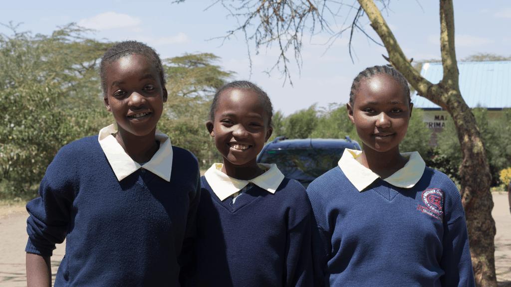 Girls at Mai Mahui School